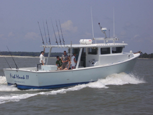 Myrtle beach fishing charters fish hook charters for Myrtle beach shark fishing charters
